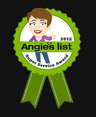 Angies List 2012 Super Service Award