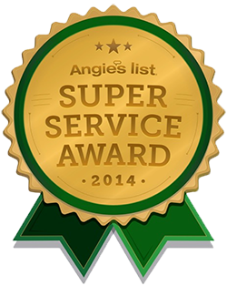 Angies List 2014 Super Service Award