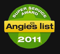 Angies List 2011 Super Service Award