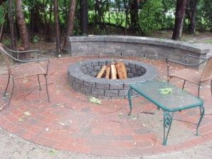 Brick Paver Fire Pit Milford MI