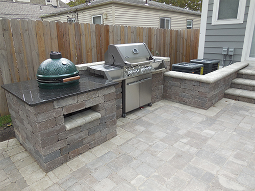 Outdoor Living Spaces With Birmingham Michigan Brick Pavers Domenico